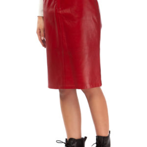 MIKKO Pencil Leather Skirt