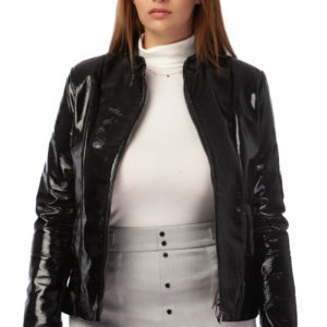 MIKKO patent leather jacket