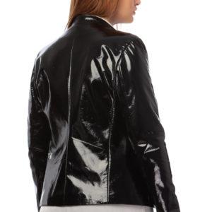 MIKKO patent leather jacket