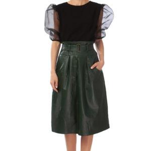 Sheer dressy blouse