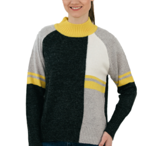 High-waisted pullover