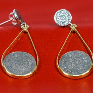 Phaistos teardrop earrings, misantra, μισαντρα