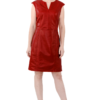 MIKKO Red leather dress