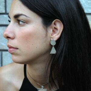 MIKKO silver earings