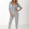 3 piece set trouser, cami top and hooded jacket