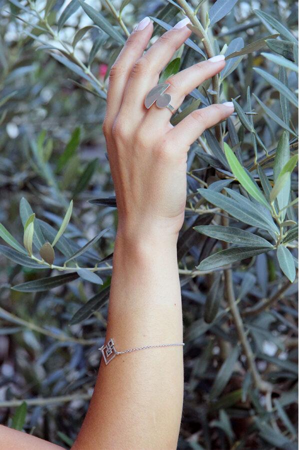 Handmade MIKKO bracelet, misantra fashion